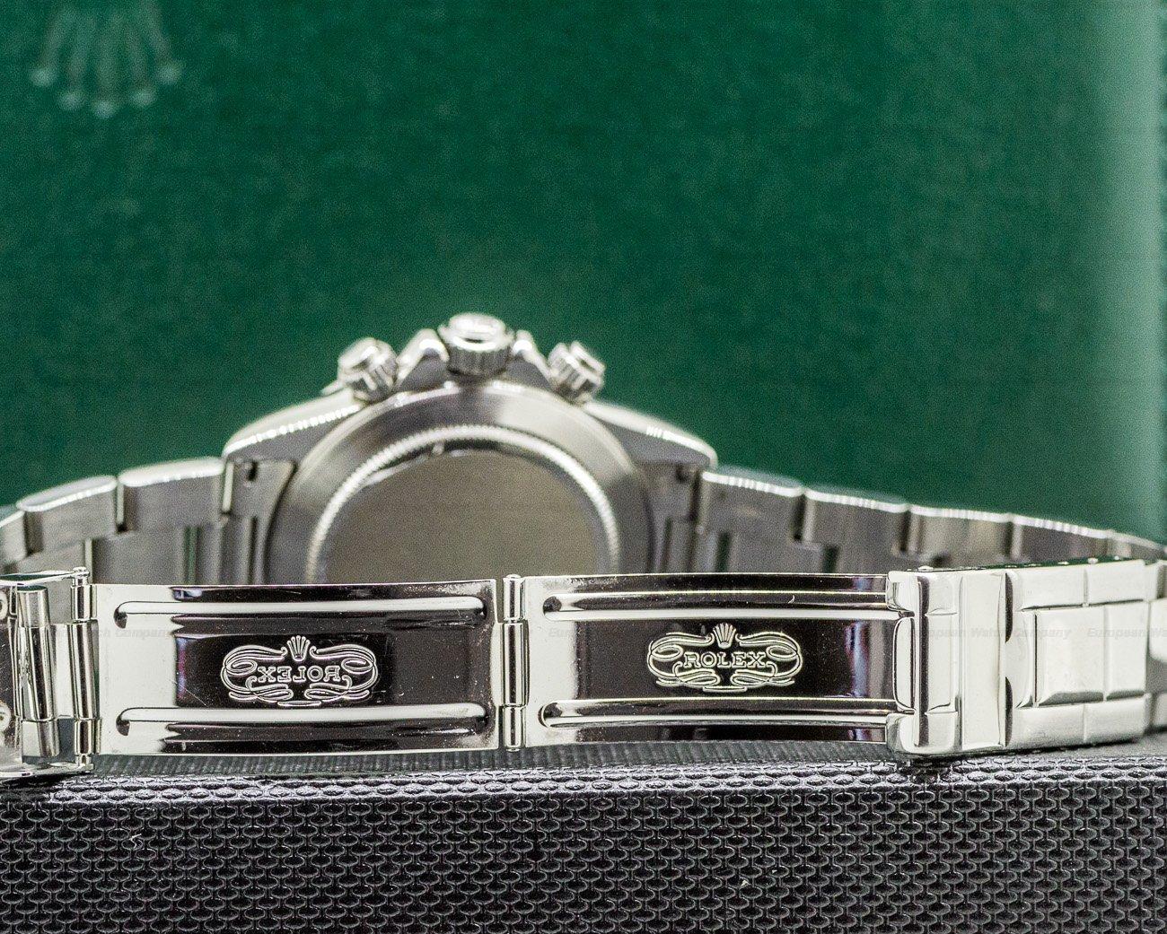 Rolex 16520 Daytona SS Black Dial Zenith Movement U Series FULL SET