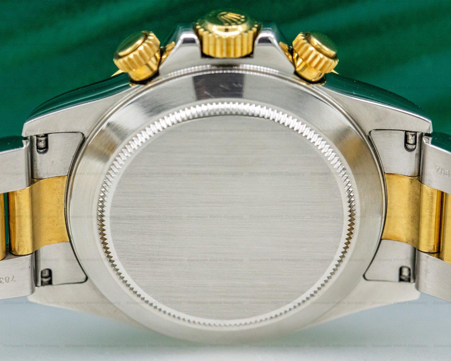 Rolex 16523 Zenith Daytona Cosmograph 18k Yellow Gold / SS FULL SET