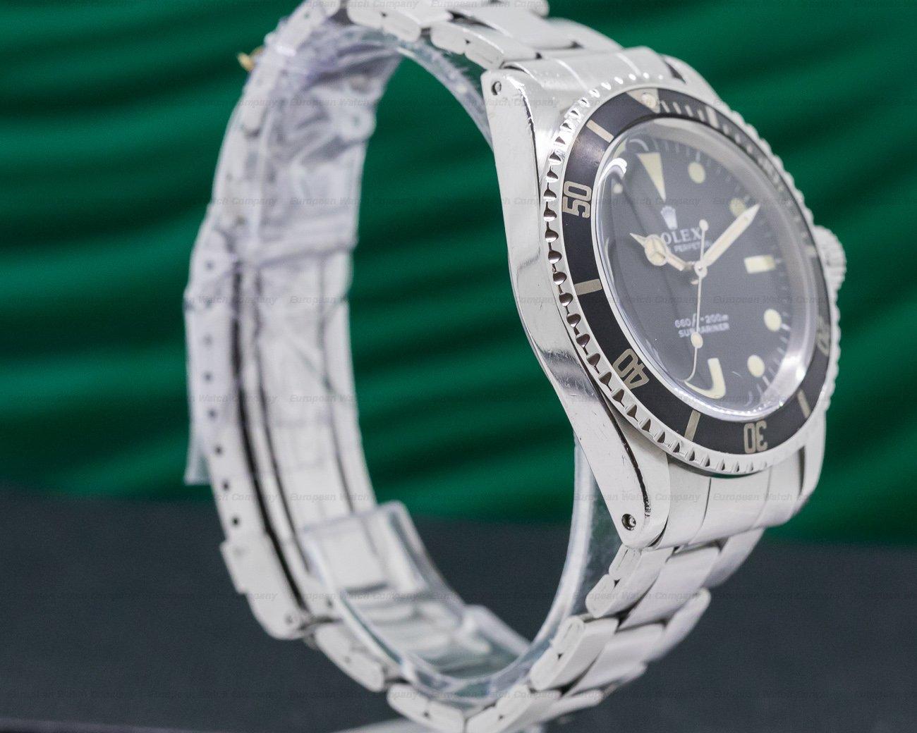 "Rolex 5513 Vintage ""Non-Serif"" Matte Dial Submariner BOX & PAPERS"