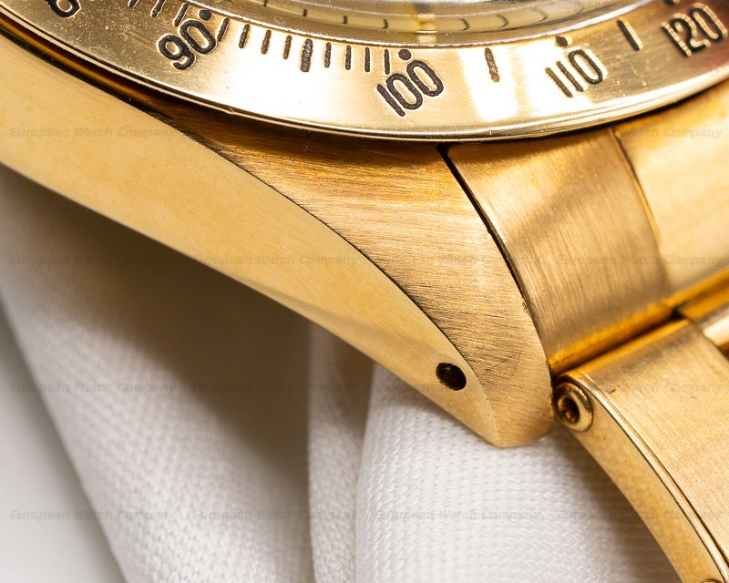 Rolex 6265 Gold Daytona Cosmograph 18K Yellow Gold / Champagne TOP QUALITY