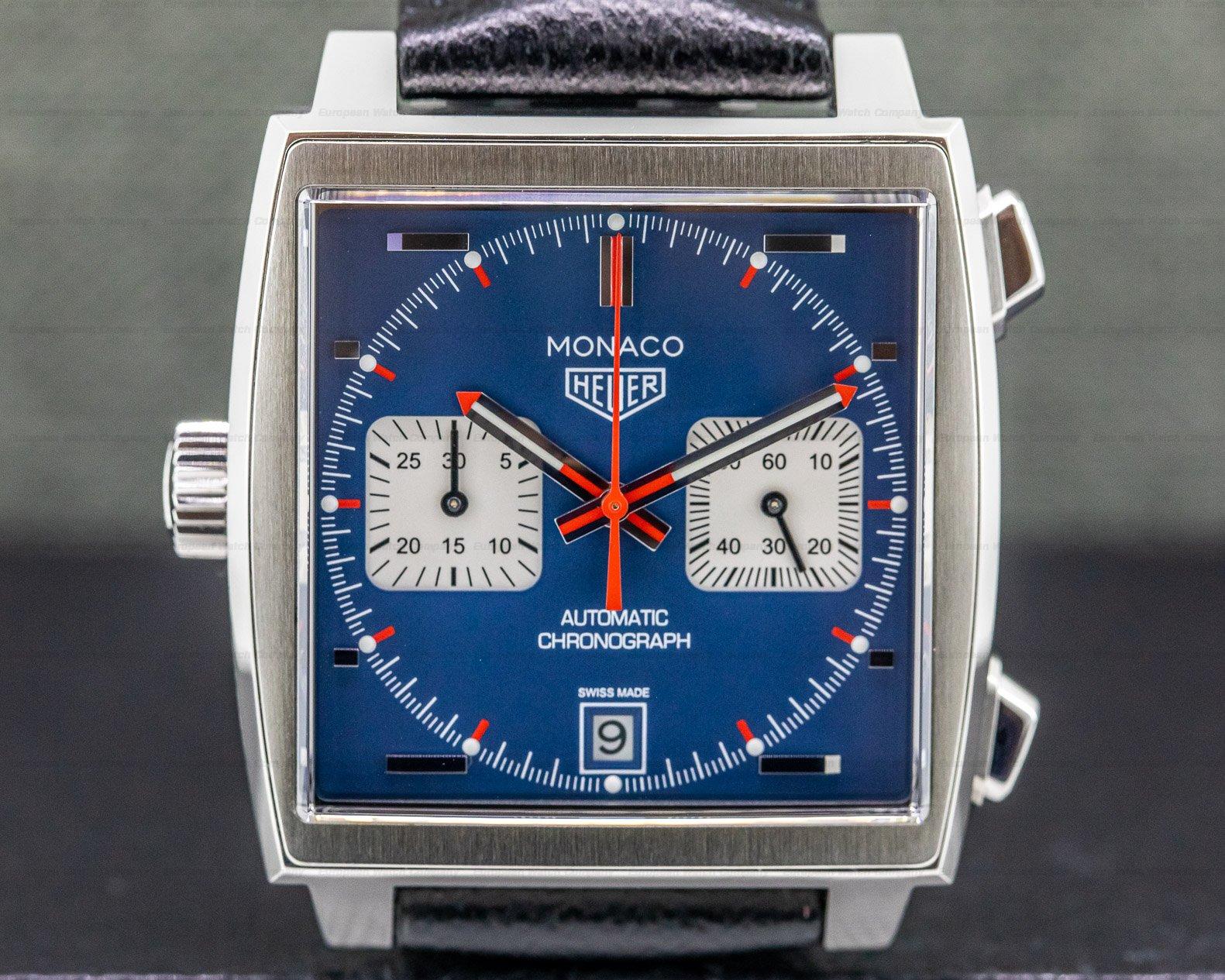 TAG Heuer CAW211P.FC6356 Monaco Chronograph Caliber 11 SS