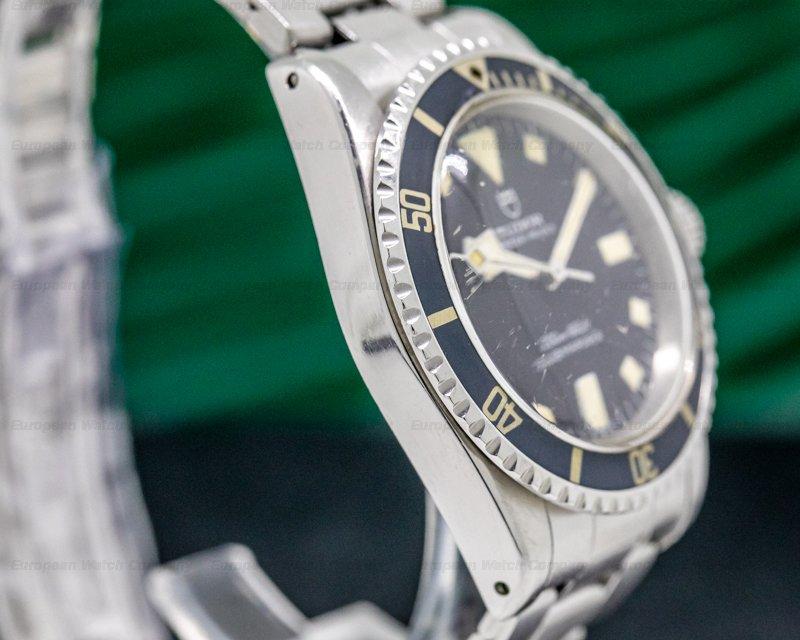 "Tudor 7016/0 Submariner Black Matte Dial ""Snowflake"" Ghost Bezel"