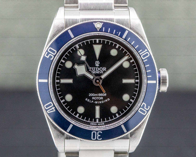 Tudor 79220N Tudor Heritage Black Bay Blue SS / SS