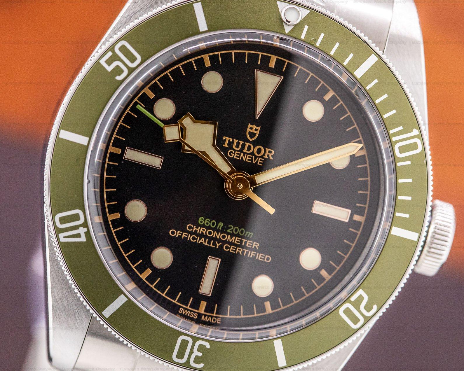 Tudor 79230G Tudor Heritage 79230G Black Bay Harrods Green SS / SS UNWORN