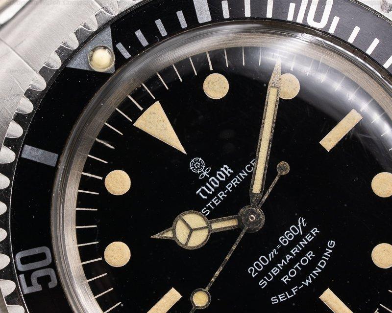 "Tudor 7928 Vintage Submariner ""Rose Logo"" Gilt Gloss Circa 1967 WOW"