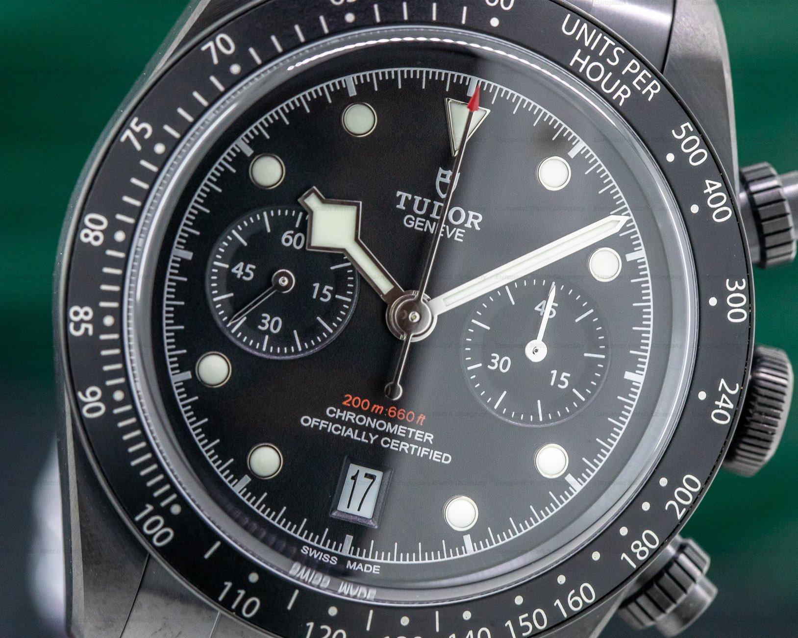 Tudor 79360DK Tudor Heritage Black Bay Chronograph Dark LIMITED