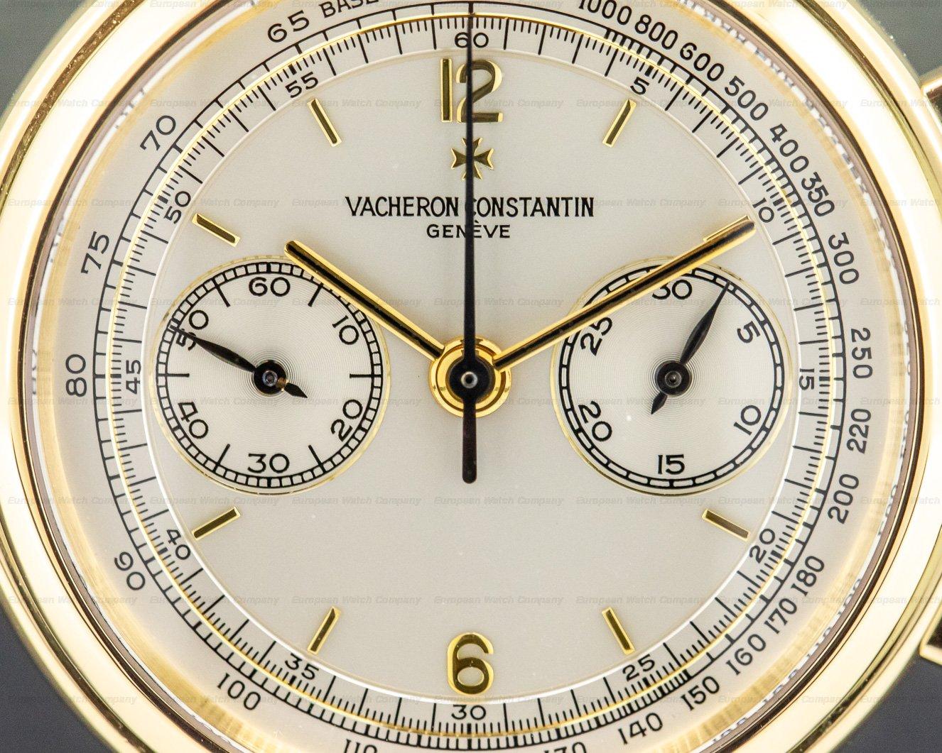 Vacheron Constantin 47101/1-47111 Les Historiques Chronograph 18K Yellow Gold