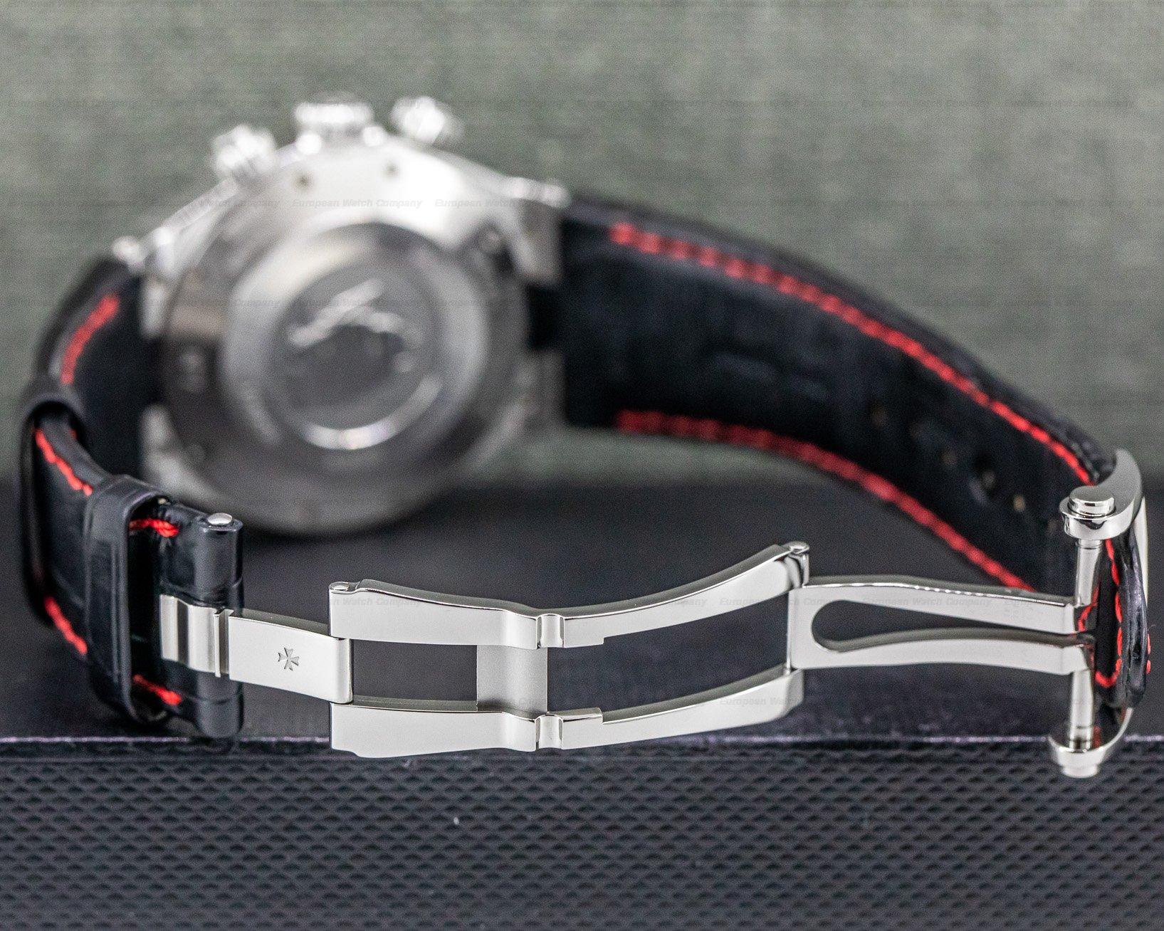Vacheron Constantin 49150/000A-9337 Overseas Chronograph Black Dial U.S. Edition