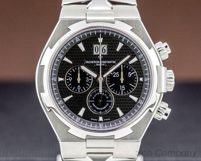 Vacheron Constantin 49150/B01A-9097 Overseas Chronograph Black Dial SS / SS