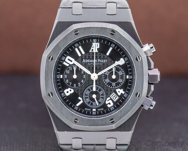 "Audemars Piguet 26014SN.OO.D002CR.01 Royal Oak Chronograph ""La Boutique"" PVD LIMITED to 150 PIECES"