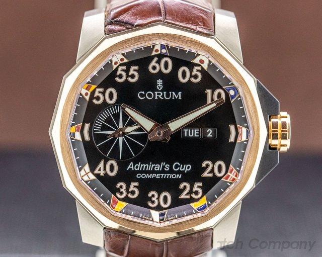 Corum 947.931.05  Admiral's Cup Competition 48 Titanium/18k Rose Gold