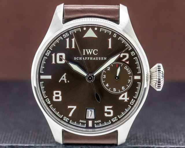 IWC IW500422 Big Pilot Antoine De Saint Exupery Limited Edition Brown Dial