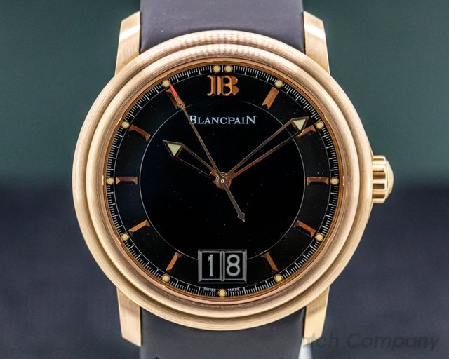 Blancpain 2850A-3630-64B Leman Big Date 18K Rose Gold LIMITED