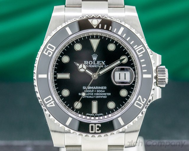 Rolex 116610LN Submariner Ceramic SS / SS UNWORN