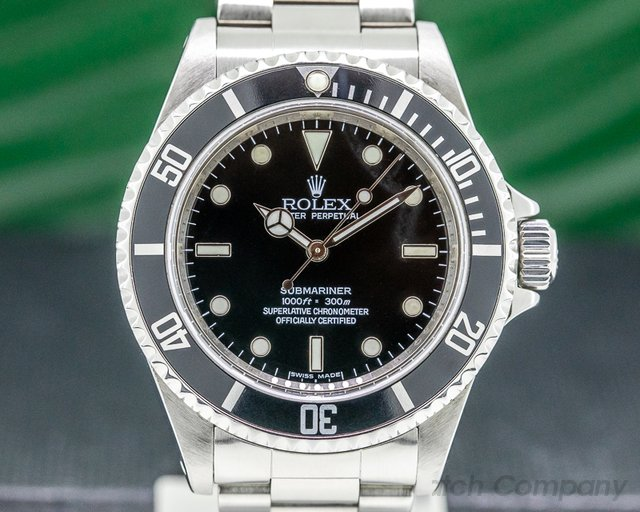 Rolex 14060M Submariner No Date SS 4 Line