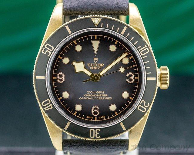 Tudor 79250BA Tudor Heritage Black Bay Bronze Slate Dial UNWORN