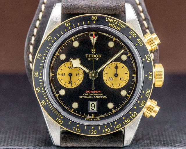 Tudor 79363N Black Bay Chronograph Steel & Gold UNWORN