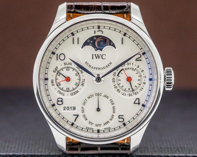 IWC IW502308 Portuguese Perpetual Calendar SS BOUTIQUE Limited