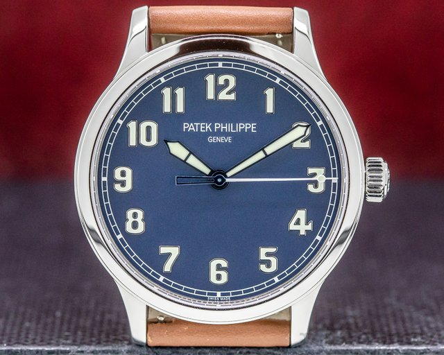"Patek Philippe 5522A-001 Pilot Calatrava Steel ""New York"" Limited Edition UNWORN"