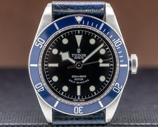 Tudor 79220B Tudor Heritage Black Bay SS / Leather