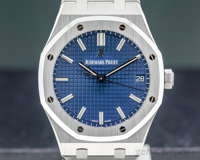 Audemars Piguet 15500ST.OO.1220ST.01 Royal Oak Blue Dial 15500ST UNWORN