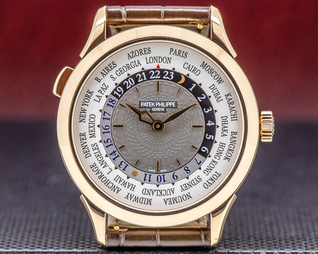 Patek Philippe 5230R-001 World Time 5230R 18k Rose Gold