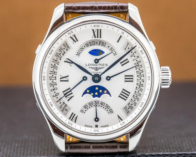 Longines L2.739.4.71.3 Master Collection GMT