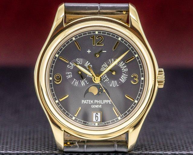 Patek Philippe 5146J-010 Annual Calendar Grey Dial 18K Yellow Gold