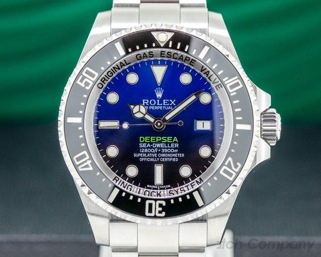 Rolex 116660 Sea Dweller Deep Sea Deep Blue JAMES CAMERON