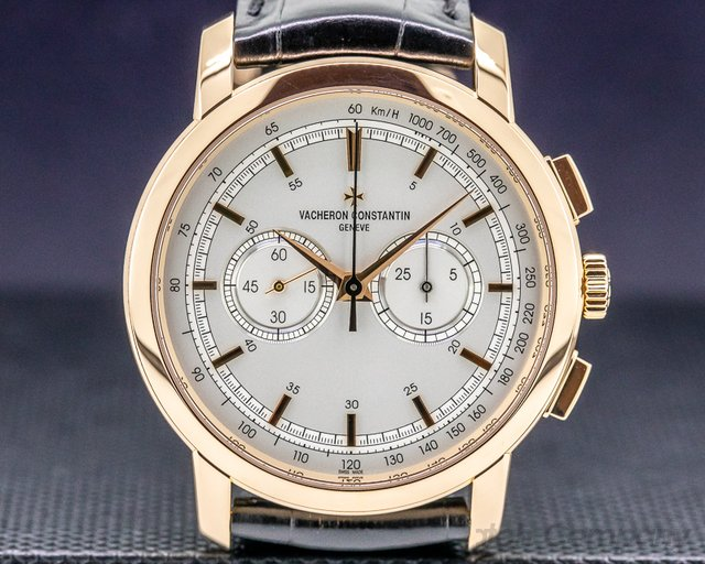 Vacheron Constantin 47192/000R-9352 Patrimony Traditionnelle Chronograph 18K Rose Gold