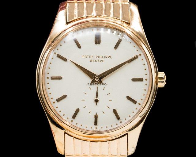 Patek Philippe 2526R Calatrava 2526 'First Series' Rose Gold Freccero Signed / Bracelet WOW