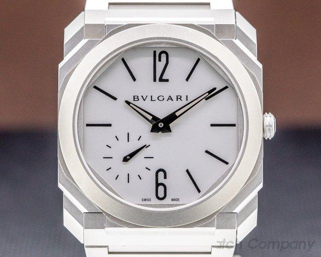 Bvlgari 103011 BGO40C14SSXTAUTO Octo Finissimo Extra Thin SS 40MM