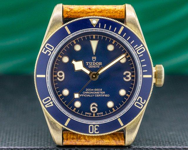 Tudor 79250BB-0001 Tudor Heritage Black Bay Bronze Bucherer Edition