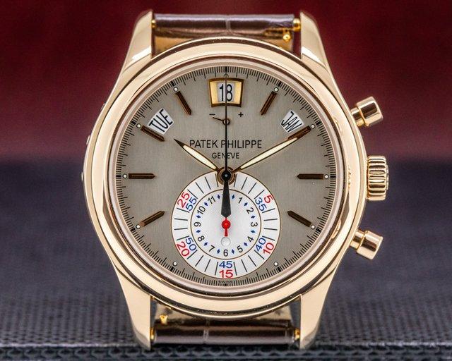 Patek Philippe 5960R-001 Annual Calendar Chronograph 18K Rose Gold