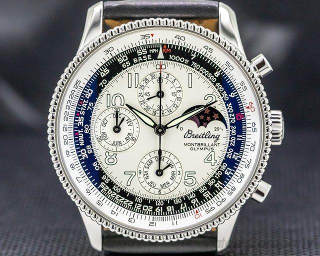 Breitling A19350 Navitimer Montbrillant Olympus