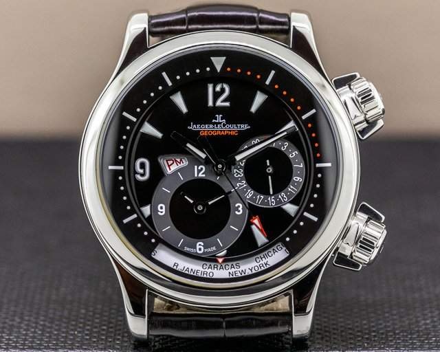 Jaeger LeCoultre Q1718470 Master Compressor Geographic SS