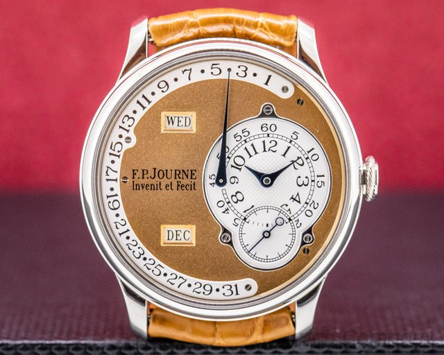 F. P. Journe Octa Calendrier Brass Octa Calendrier Platinum / ROSE Gold Dial 38MM BRASS MOVEMENT