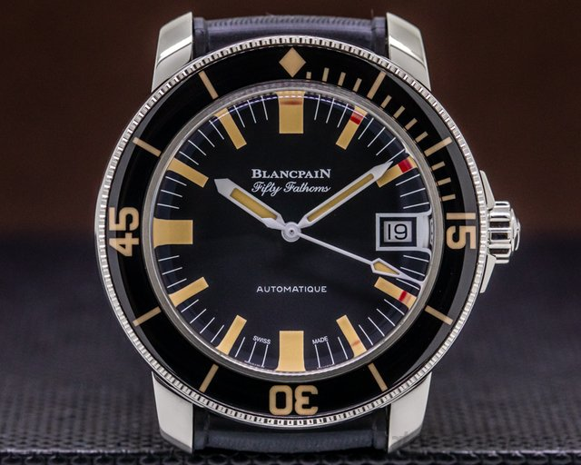 Blancpain 5008B-1130-B52A Fifty Fathoms Barakuda SS LIMITED 40MM