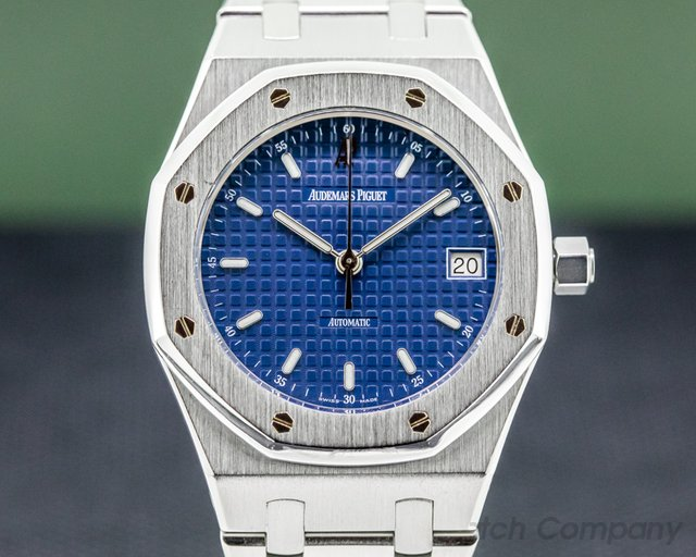 Audemars Piguet 14790ST.OO.0789ST.08 Royal Oak Blue Dial SS 36MM FULL SET