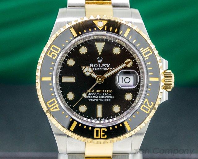 "Rolex 126603 Sea Dweller ""Two-Tone"" SS / 18k YG NEW MODEL"