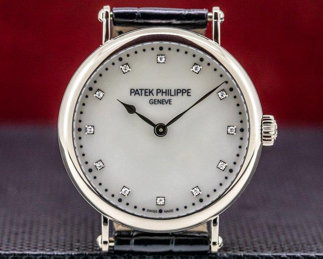 Patek Philippe 7200/50G-010 Ladies Calatrava New York 2017 Special Edition 18K WG MOP Dial LIMITED