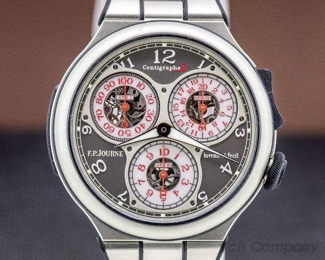 F. P. Journe Centigraphe Sport Alumin Centigraphe Sport Aluminum / Bracelet FULL SET