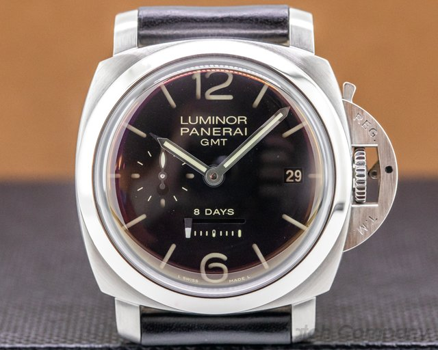 Panerai PAM00233 Luminor 1950 8 Day Manual Wind GMT