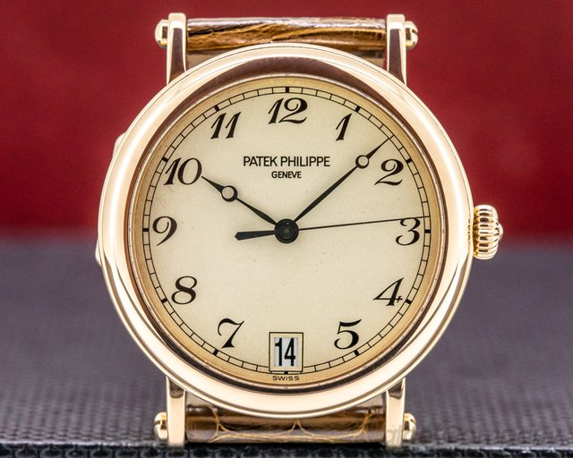 Patek Philippe 5053R-001 Calatrava 5053 Officers Case 18K Rose Gold
