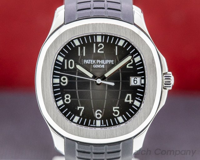 Patek Philippe 5167A-001 Aquanaut SS / Rubber FULL SET