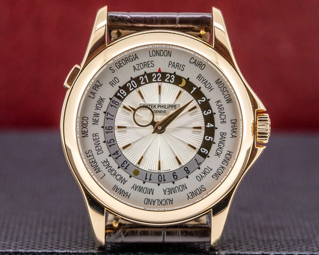 Patek Philippe 5130R-018 World Time 5130 18K Rose Gold