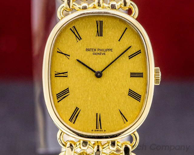 Patek Philippe 3848/1 Golden Ellipse 18K Yellow Gold Bracelet