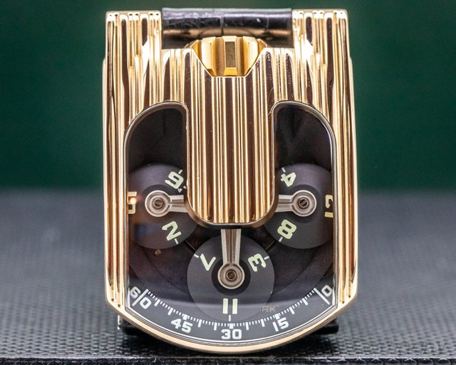 URWERK UR-103.03 103 Manual Wind 18k Rose Gold FULL SET