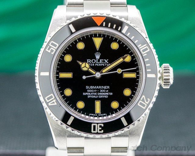 Rolex HS01 Project X Designs HS01 Submariner No Date Ceramic Bezel LIMITED UNWORN