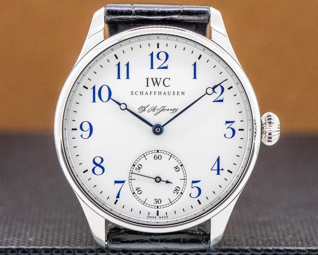 IWC IW544203 Portuguese F.A Jones Limited Edition SS